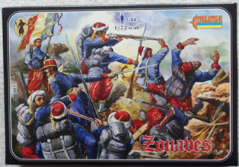 Strelets 1/72 ST0033 French Zouaves (Crimean)